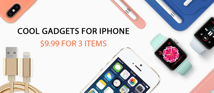 Special offer for various Iphone Gadgets and smart electronics