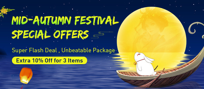 Mid-Autumn Festival Flash Deal Promotion Is