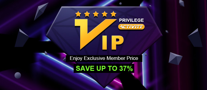 VIP Privilege Activity, Enjoy Exclusive Member Price