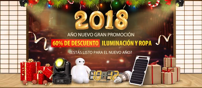 2018 New Year Big Promotion