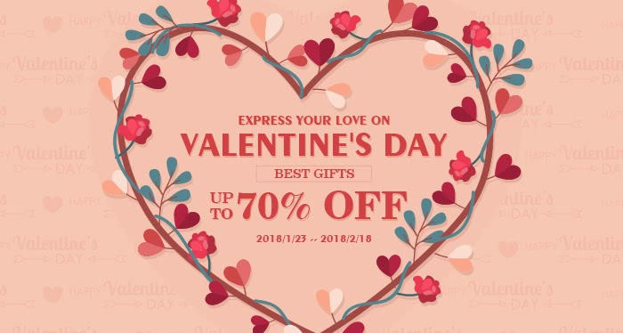 Express Your Love on valentines day