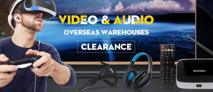 From $5.49,Video & Audio Overseas Warehouse Clearance.