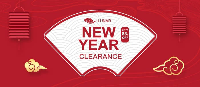 2018 New Year Unbeatable Clearance Sale