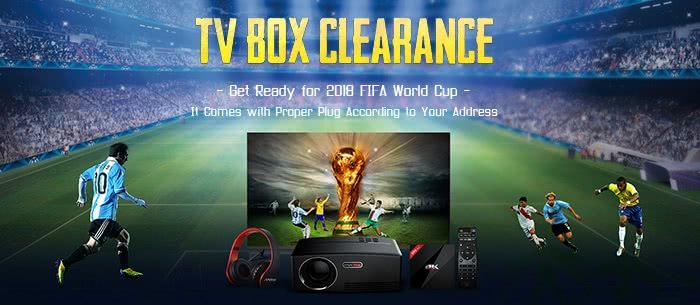 TV BOX CLEARANCE