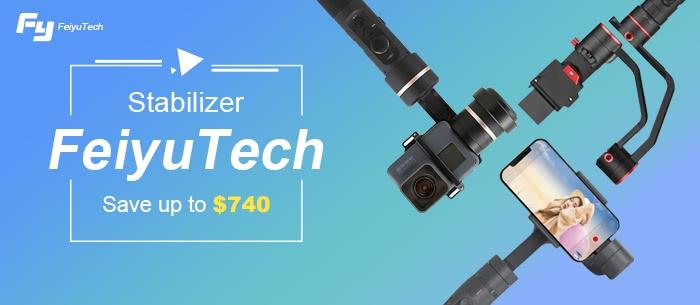 FeiyuTech Stabilizer Promotional Sale