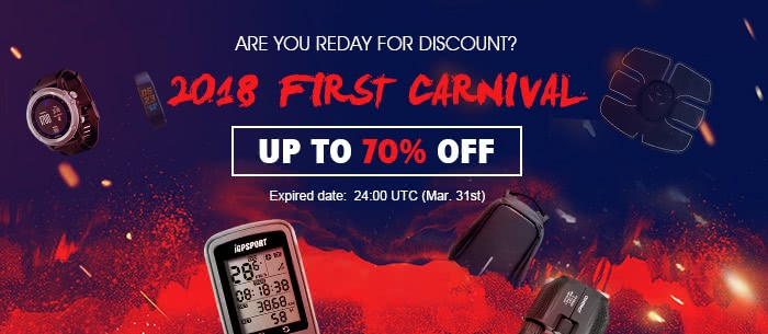 Outdoor Sports Equipment 2018 Frist Shopping Carnival, Up to 70% Off