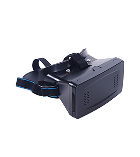 Head-Mounted Google Cardboard Version 3D VR Glasses