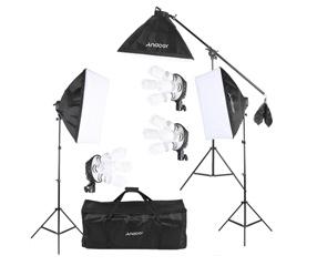Andoer Studio Photo Video Lighting Kit