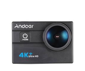 "Andoer Ultra HD 2.0"" 4K 25FPS 1080P 60FPS 4X Zoom WiFi Action Camera"