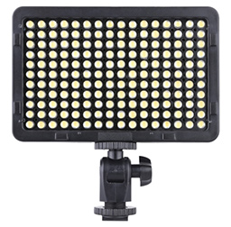 Portable Panel 176 LEDs 5600K for Cannon Nikon Pentax Olympus Camcorder DSLR Camera