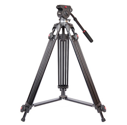 JY0508A 1.5m Foldable Telescoping Aluminum Alloy DSLR Camera Camcorder Video Tripod