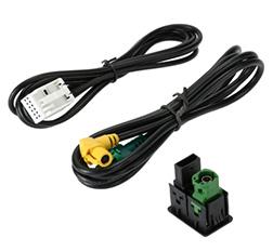 USB AUX Audio Cable Switch Plug