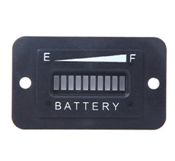 Battery Status Charge Indicator Monitor Meter Gauge