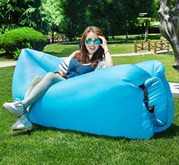 Portable Convenient Inflatable Lounger Air Sleeping Bag