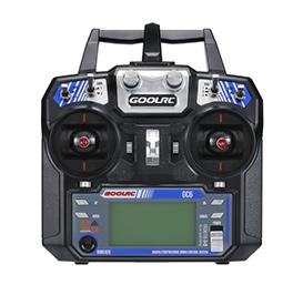 GoolRC GC6 2.4G 6CH AFHDS2A Transmitter Mode 2 and GC-6 6CH Receiver