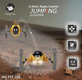 HappyCow  777-359 2.4GHz Radio Control Jumping Stunter RC Bounce Car