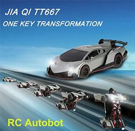 JIA QI TT667 RC Robot Car Transformation Autobot Deformation Robot