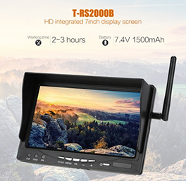 T-RS2000B FPV Monitor With Built-in Battery