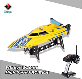 WLtoys WL911 2.4G Remote Control High Speed 24km/h RC Boat
