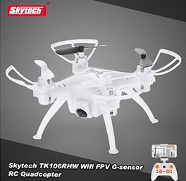 Skytech  TK106RHW FPV Drone Waypoints Altitude Hold G-sensor RC Mini Quadcopter