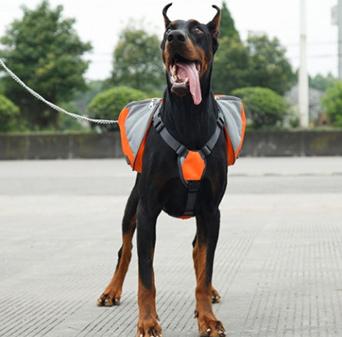 Pet Pack Dog Saddle Backpack Big Dogs Bag