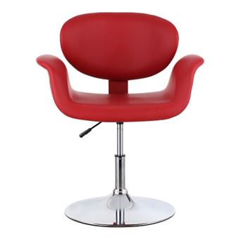 iKayaa Ergonomic PU Leather Salon Barber Chair