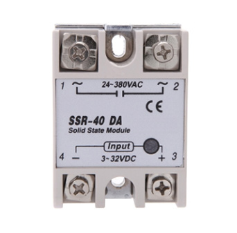 24V-380V 40A SSR-40 DA Solid State Relay