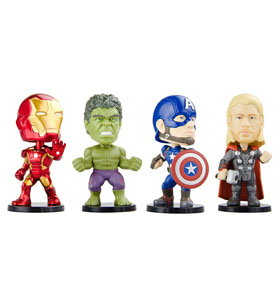 Iron Man Thor Hulk and Captain America