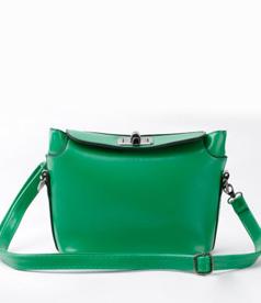 Twist Lock Candy Color Messenger Bag
