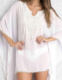 Boho Crochet Lace Cover Up