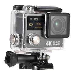 "2"" Dual Screen 4K 15fps 1080P Action Camera"