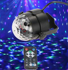 Remote Control Mini LED Magic Ball Stage Light