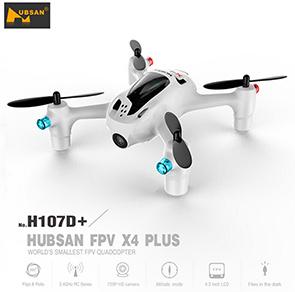 Hubsan X4 H107D+ 5.8G FPV Drone