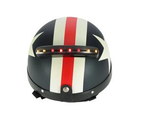 Motorcycle 12V Helmet LED Turn Signal Light