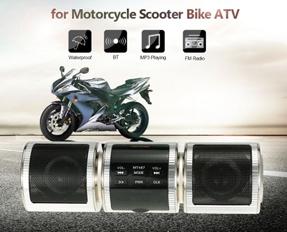 Motorcycle Waterproof MP3 Player Speaker
