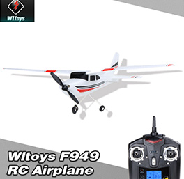 Wltoys F949 2.4G 3Ch RC Airplane Fixed Wing Outdoor Plane