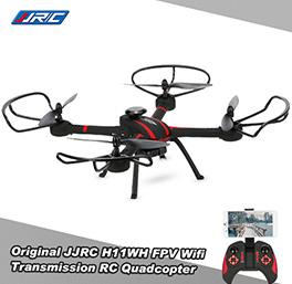 JJRC H11WH 2.4G 4CH 6-axis Gyro 2.0MP HD Camera WiFi FPV RC Quadcopter RTF