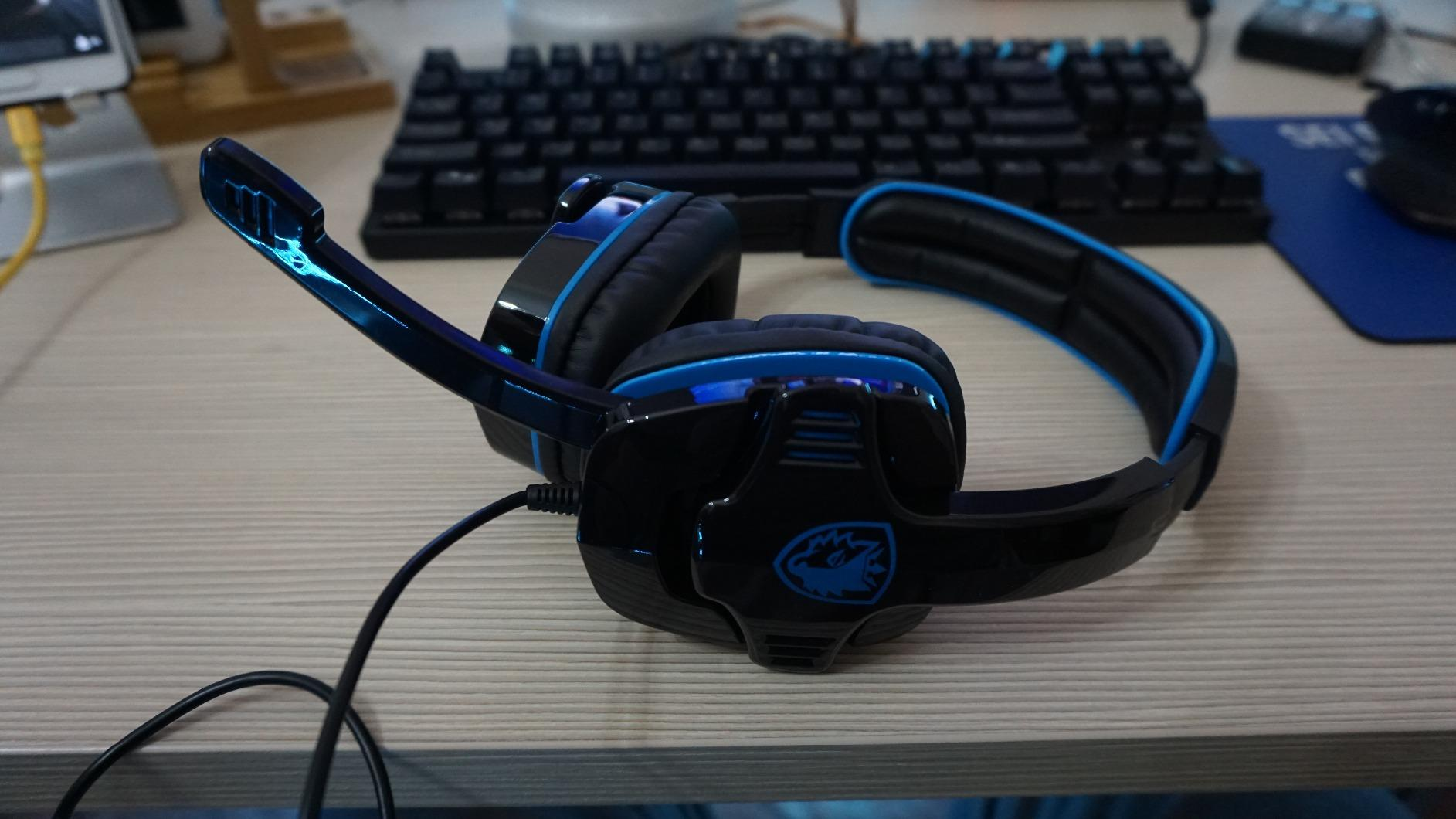 Sades Sa 708gt 35mm Gaming Headphone Sales Online Black Blue Tomtop 708 Headset Stereo Sound Is This Helpful 0