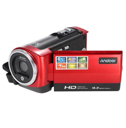 Andoer tragbare Mini-LCD-Schirm-HD 16MP 16X Digitalzoom 720P Digital Camcorder DVR