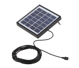 Tomshine 6V 0.3A 1.8W Water Resistant IP65 Solar Panel Charger