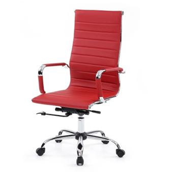 iKayaa Luxury Ergonomic PU Leather Chair