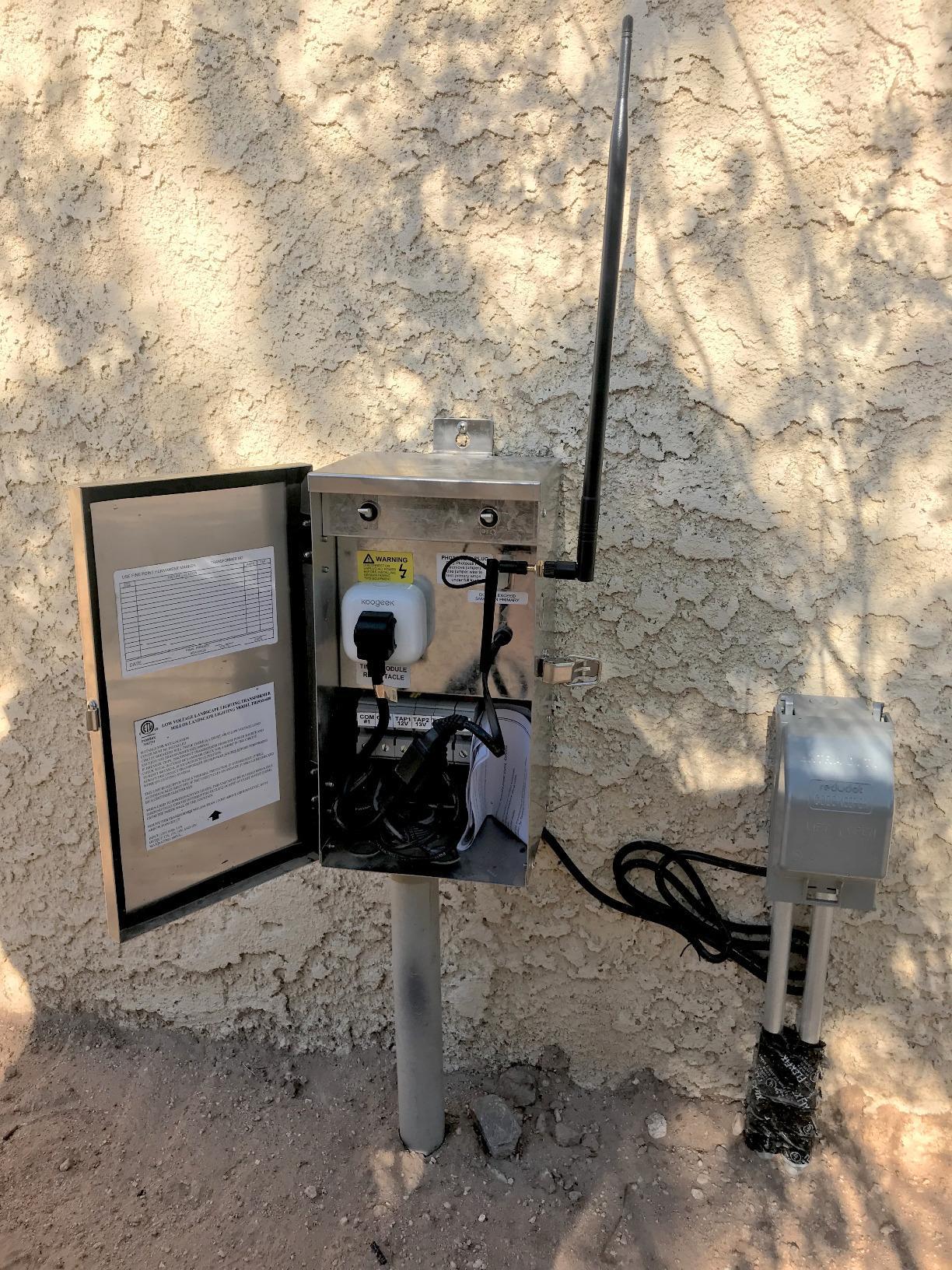 Black Koogeek Home Smart Plug Wi Fi Enabled Works With