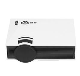 UC46 LED Projector 1200 Lumens 1080P 800 : 1 Contrast Ratio