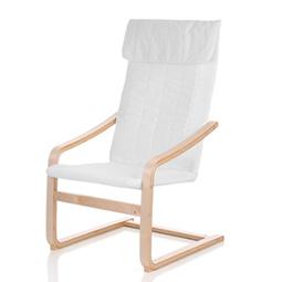iKayaa Contemporary Wooden Reclining Bentwood Chair
