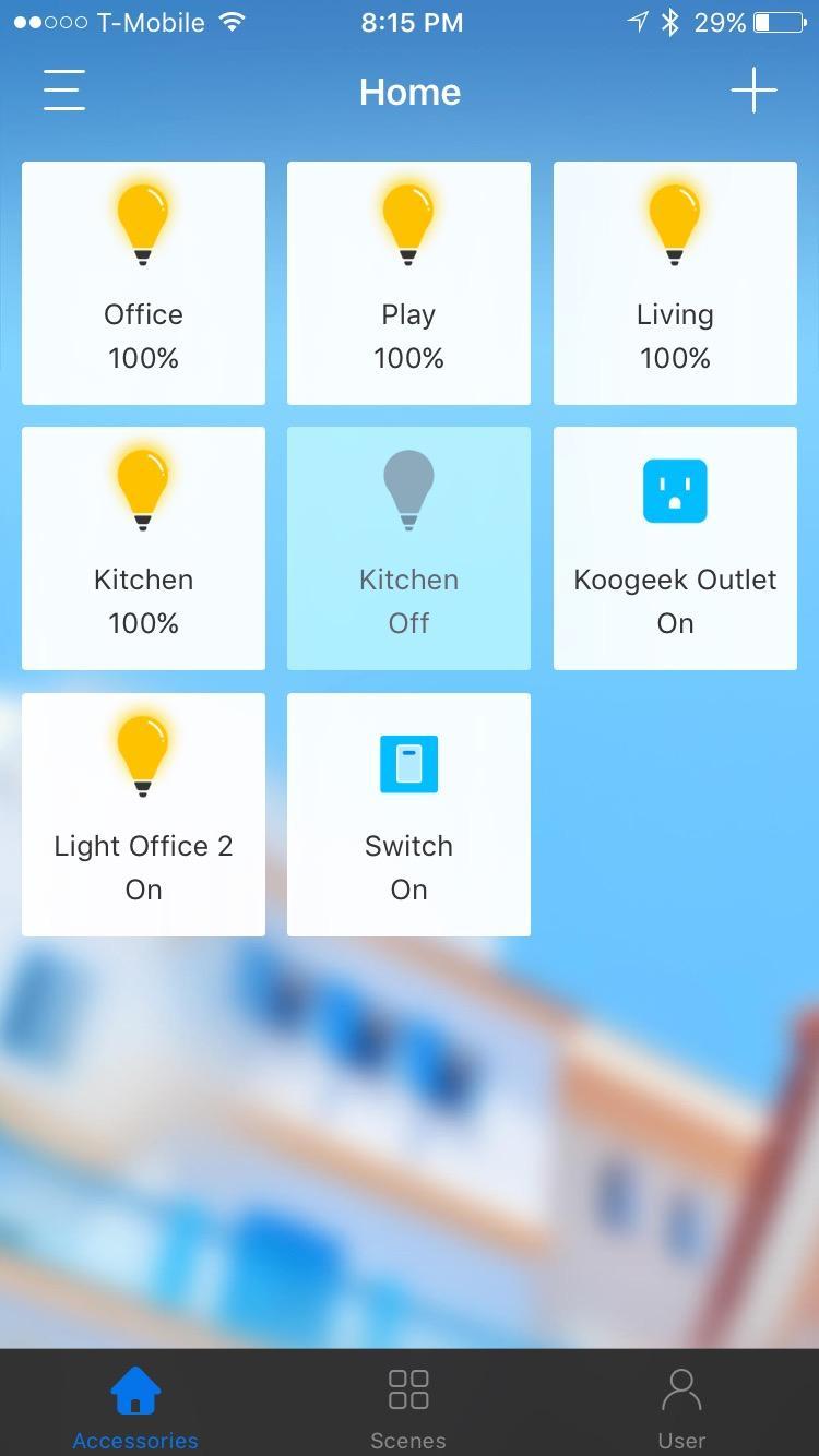 Wi-Fi Enabled Smart Light Switch - Koogeek.com
