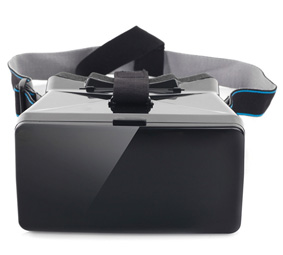 Portable 3D VR Glasses with Sucking Disk