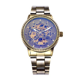 Shenhua Skeleton Mechanical Watch