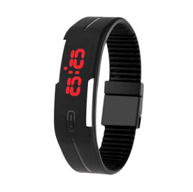LED Water Resistant Sport Watch