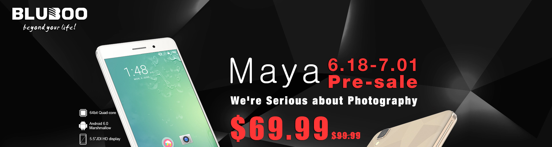 Maya 6.18-7.01 Pre-sale We're Serious about Photography $69.99