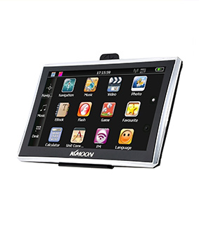 "KKMOON 7"" HD Touch Screen Portable GPS Navigator"